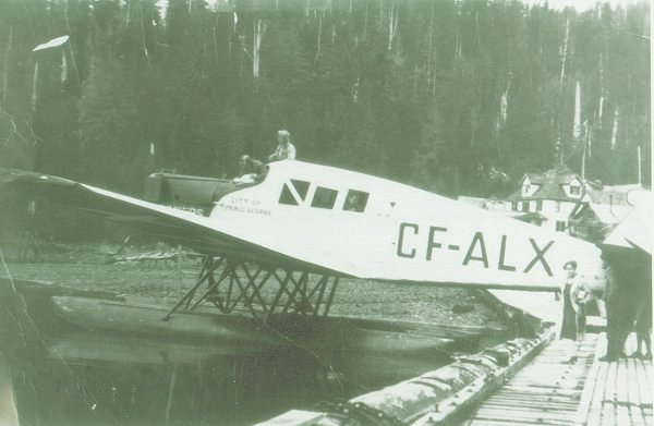 Junkers F.13 CF-ALX Location and date unknown