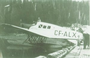 Junkers F.13 CF-ALX -  Date and Location unknown